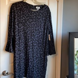 Old navy leopard print dress